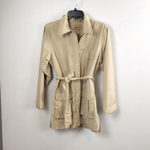 Woolrich women's Vintage Tan Shirt Jacket